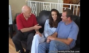 Deep Anal For Hot Wife Swinger