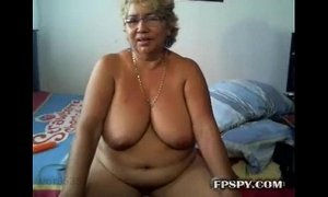 Blonde granny mastrubation xVideos