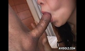 Naughty Ozawa Chris creampie and facial xVideos