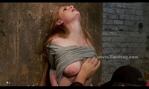 Blonde immobilized on bondage device xVideos