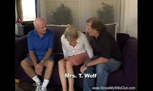 Blonde Swinger Slut Mrs. Wolf Abused xVideos