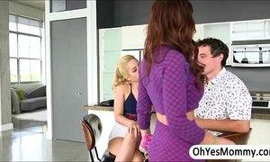 MILF Syren makes sex deal to teen Goldie adn her boyfriend