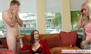 Naughty moms Diamond Foxxx and Marsha May share cock xVideos