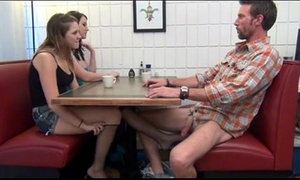 Cialis Porn Tube - Buy Cialis daughter gives Footjob and BJ to not her dad Under the Table Porn Tube xVideos