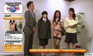 Weird JAV TV Shopping Channel Sexy Uniforms Subtitled xVideos