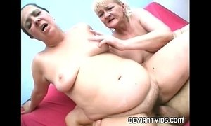 Ugly amateurs rammed in threesome porn xVideos