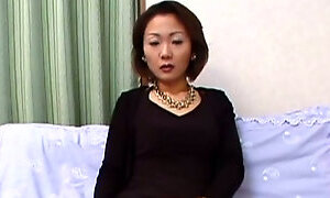Elegant Japanese MILF stripping on camera exposing her sexy body