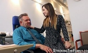 Horny slut fucks stepdad xVideos