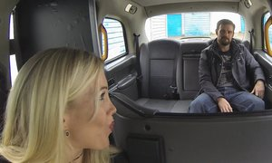 Billy King is lucky enough to fuck his sexy cab driver AnalDin
