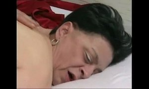 61 years old granny with nylons stocking xVideos