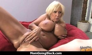 Big tits white cougar fucks a lucky black guy 4 xVideos