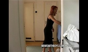 Stepmom Seduces Stepson Into Getting Hard xVideos