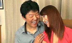 Bad father-in-law seduces new bride