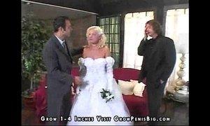 Pixie the swallowing sandwich bride