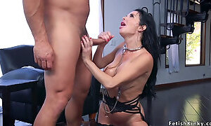 Dude bangs nympho wife and her step sister