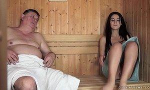 Horny Grandpa Fucks The Tiny Bella Beretta xVideos