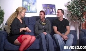 German couple fucking with a milf in threesome xVideos