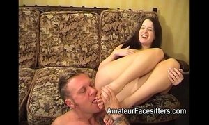 Controlling her man with her feet and butt xVideos