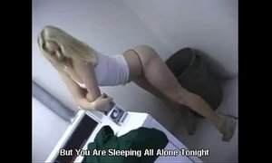 Cute Blonde girl Fucked in the Laundry /100dates xVideos
