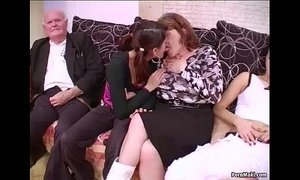 Group sex with grannies xVideos