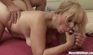 Saggy Breasted Blonde Mature Stepmom Anal Fucked xVideos