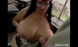 BBW Granny Gets Fucked On The Bus xVideos