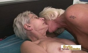 Nasty grannies having lesbian sex in the old folks home xVideos