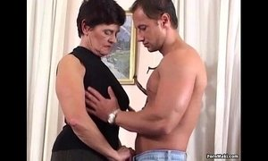 German granny is not too old for fucking xVideos