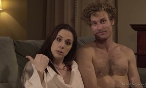 Sextractive porn actress Chanel Preston gives and interview AnySex