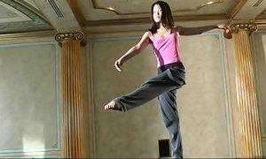 Horny ballet dancer explores new erotic winning tricks Beeg