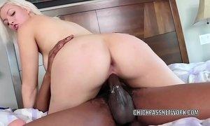 Busty blonde Jenna Ivory gets her twat pounded